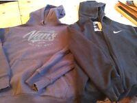 NIke and Vans hoodies