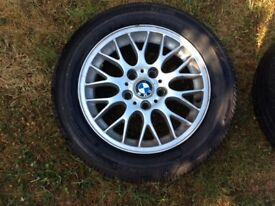 BMW 16inch BBS Alloy Wheels with tyres