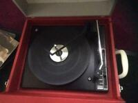 Record Player + Vynils