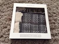 BNIB Jack Wills headband and mittens set
