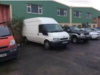 Ford transit long and high mot ready to go