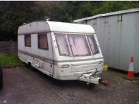 Swift 4 berth caravan