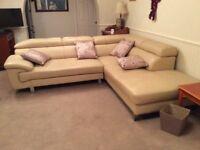 Corner settees good quality