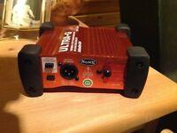 ULTRA G DI box for mixer input