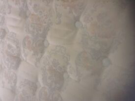 King size mattress,superb quality and condition,£85.00