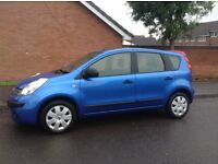 Nissan note dci diesel immaculate condition