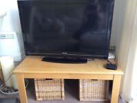Oak Effect Coffee Table/TV Unit