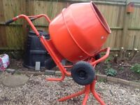 Electric Cement Mixer 100ltr