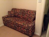 Sofa Bed, used as spare bed only, good condition, exterior immaculate