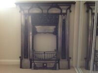 Cast iron fireplace for sale