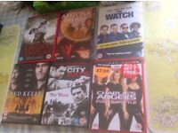 DVD films job lot pick & choose