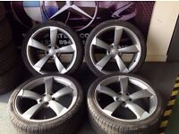 AUDI, BMW, MERCEDES, FORD, STEEL, SPARE ALLOYS + TIRES