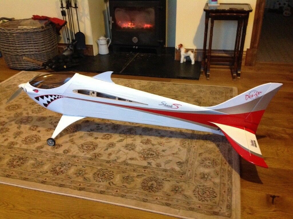 RC electric airplane Sebart Shark
