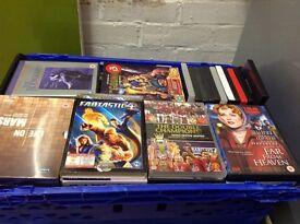 Large job lot of dvd's over 80 films