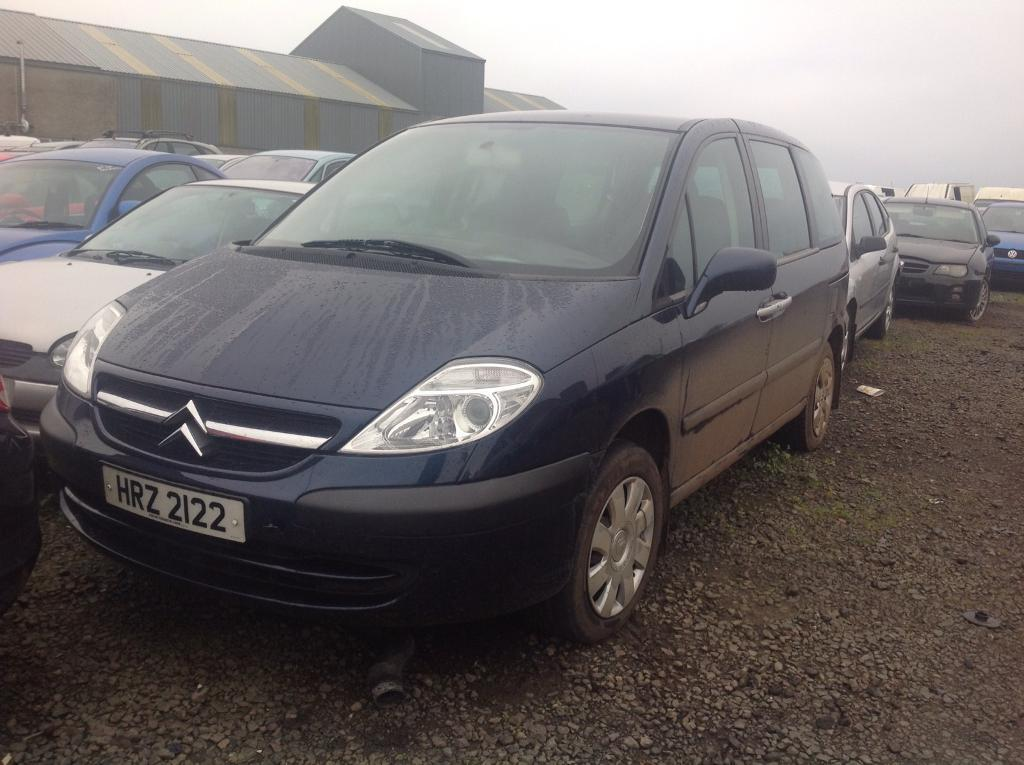 2006 CITROEN C8 LX HDI 16V 2.0 DIESEL BREAKING FOR PARTS ONLY POSTAGE AVAILABLE NATIONWIDE