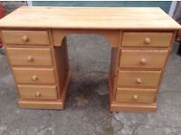 Quality Hand Made Two Desk/Dressing table,Can Deliver