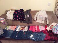 4-5 years Girls Bundle. 80 plus items