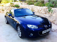 Mazda MX5 Sports Tec, 6 Gears, Air-con, bose stereo, leather interior, few small scratches.