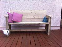 Heavy duty 6ft garden settee / bench