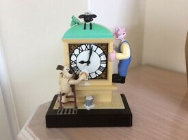 Wallace & Gromit -Moving Alarm Clock