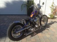 Flyrite Motorcycle Vee Twin S&S Engine, Custom Paint, Private Plate