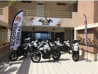 Scooter and motorbike rental business Tenerife(Spain)!