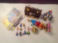 Lego spongebob collection, includes 10 minifigs