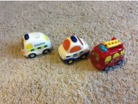 Vtech toot toot drivers emergency vehicles set