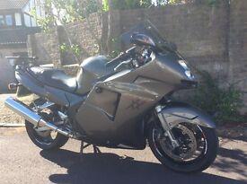 Honda Blackbird CBR1100XX 1997 Titanium HPI clear £2150