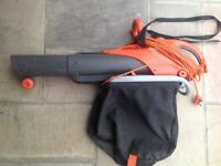 Flymo garden blower shedder