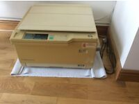Canon NP1215 Photo Copier, trays toner and manual