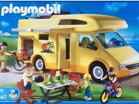 PLAYMOBIL 3647 Campervan Mobilehome Set, Boxed & Instructions, Excellent Condition