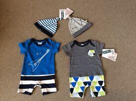 Mamas and Papas newborn outfits