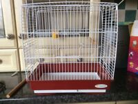 Small bird cage for sale ,14 inch height and length 9 inches wide