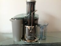 Sage by Heston Blumenthal Nutri Juicer. Used twice. Very good condition.