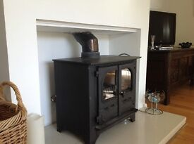 Dunsley Highlander 10 multi-fuel boiler stove.