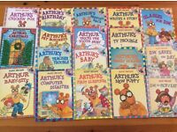 18 books from the Arthur Adventure series by Marc Brown for age 5-8