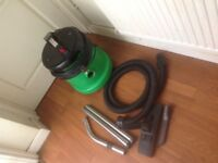 Henry vacuum cleaner with attachments