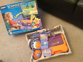 Tech V Smile TV Learning System aged 3-7 yrs