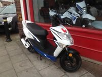 Lexmoto Echo 50cc Moped fully serviced full service history Delivery can be arranged