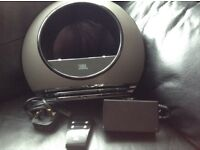 JBL iPhone docking speaker with transformer and remote control