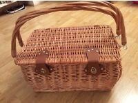 Wicker Picnic Basket by Todhunter of England