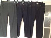 3 Pair of M&S Per Una Jeans.