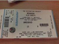 Meshuggah. Belfast Limelight. 2 Tickets!