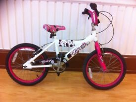 "Girls bike - fully refurbished Avigo Breeze: single-speed, 18"" wheels (6-8 years)"