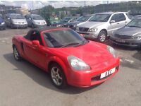 TOYOTA MR2 1.8VVT-I ROADSTER++FULL SERVICE HISTORY++LONG MOT JAN 2018++PERFECT CONDITION++BARGAIN!!