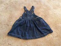 Gap denim dress 2 years excellent condition