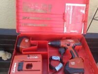 HILTI Drill 151 2 battery's charger this is one of 3 Drills