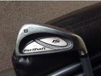 Wilson Fatshaft irons, 3-PW, graphite regular