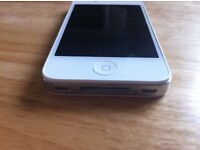 Iphone 4S White UNLOCKED Any Network Brand New No Box or Accessories